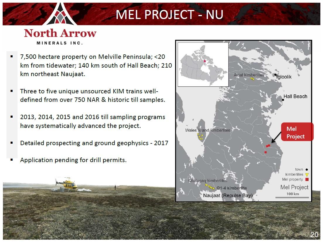 North Arrow On Map Of Canada.North Arrow Minerals Inc